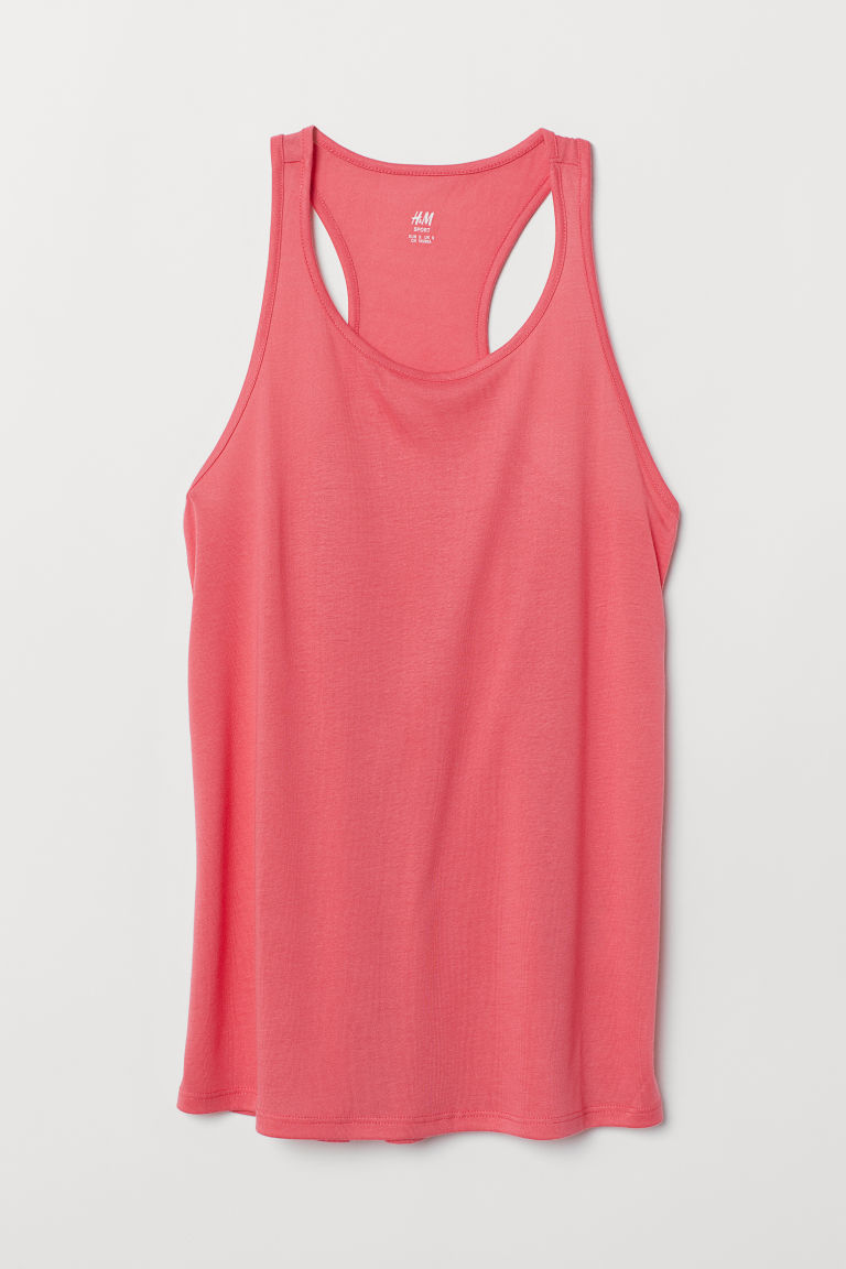 Sports vest top - Coral pink - Ladies | H&M GB