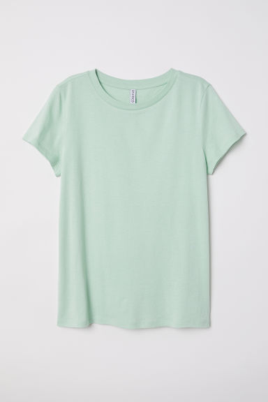 T-shirt - Light dusky green -  | H&M CN