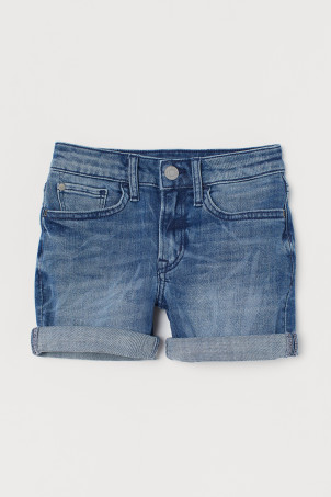 Comfort Stretch Denim Shorts