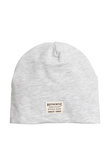 Jersey hat - Light grey marl - Kids | H&M CN