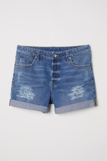 Denim Shorts Boyfriend