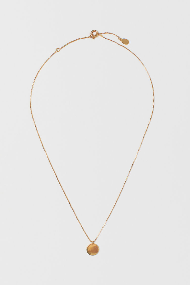 Gold-plated necklace - Gold-coloured - Ladies | H&M