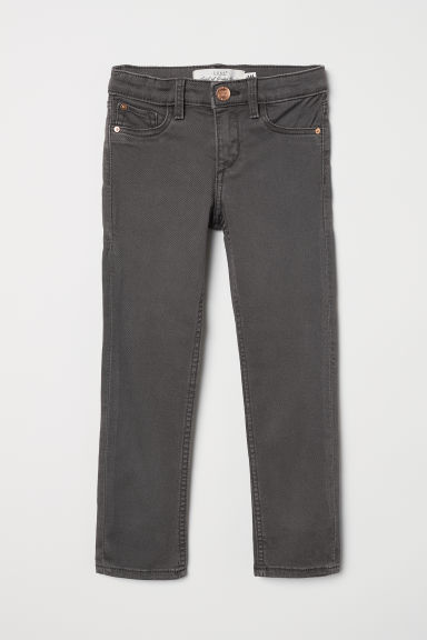 Twill trousers - Dark grey - Kids | H&M