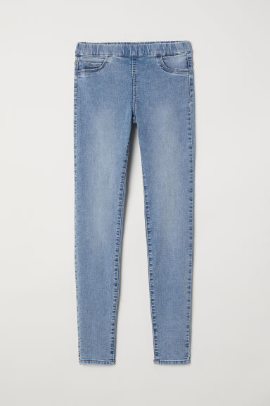 Superstretch treggings - Light denim blue - Ladies | H&M CN