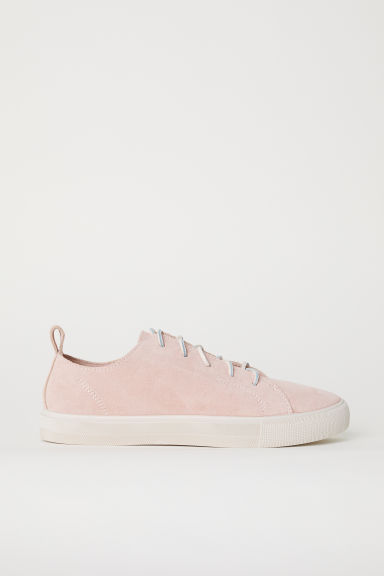 Sneakers scamosciate - Rosa cipria -  | H&M IT
