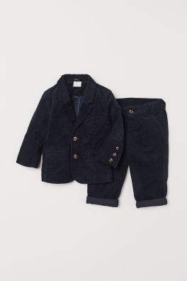 cb6260304bbe Corduroy jacket and trousers. SAVE AS FAVOURITE. BABY EXCLUSIVE