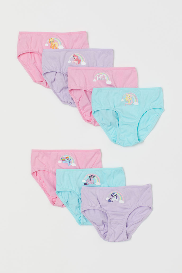 Slip in cotone, 7 pz - Turchese/My Little Pony - BAMBINO | H&M CH