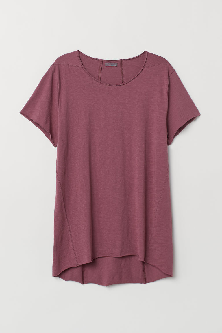 Long T-shirt - Vintage pink - Men | H&M