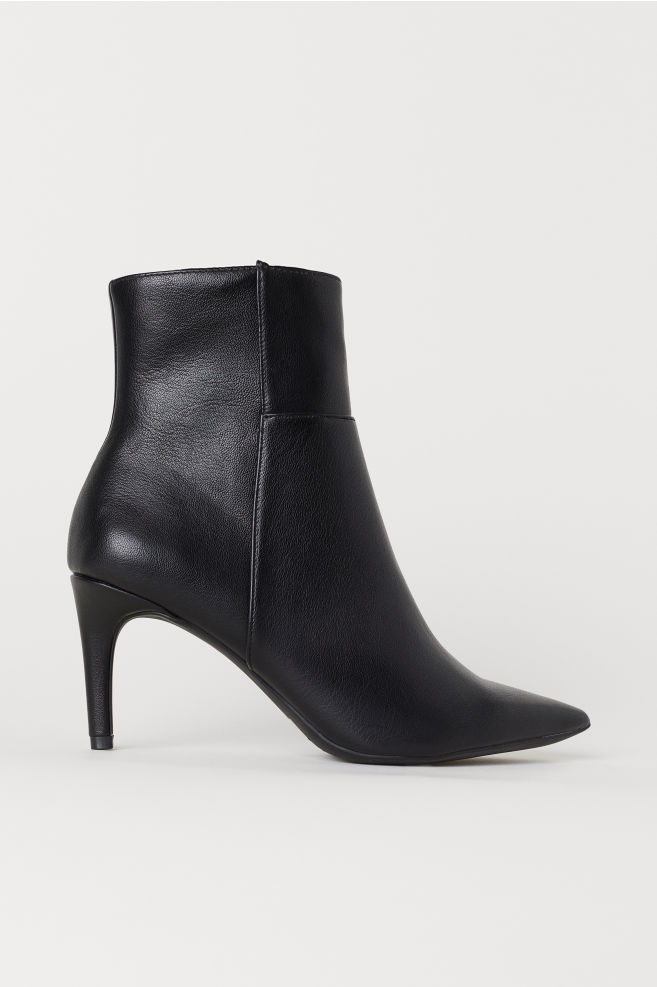 9d37c538f Ankle Boots - Black - Ladies | H&M ...
