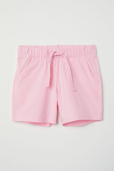 Tricot short - Lichtroze -  | H&M BE