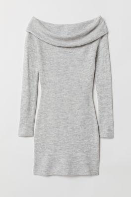 aacf13674e Off-the-shoulder Dress