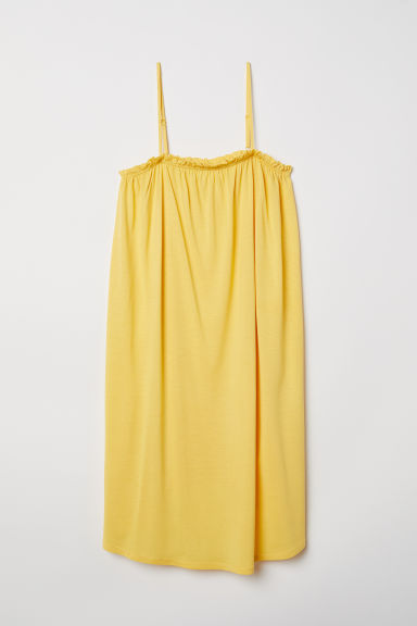 Sleeveless Jersey Dress - Yellow - Ladies | H&M CA