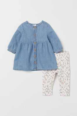 fc7bb61ef Baby Girl Clothes | Age 4 Months to 4 Years | H&M GB