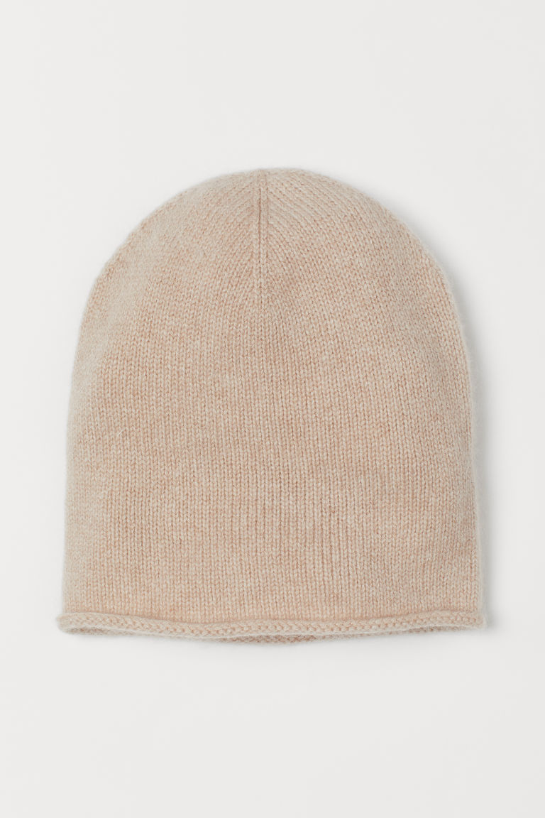 Cashmere hat - Light beige - Ladies | H&M GB