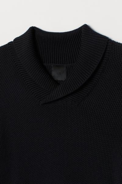 H&M - Shawl-collar jumper - 6