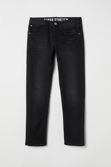 Superstretch Skinny Fit Jeans - Sort - BARN | H&M NO