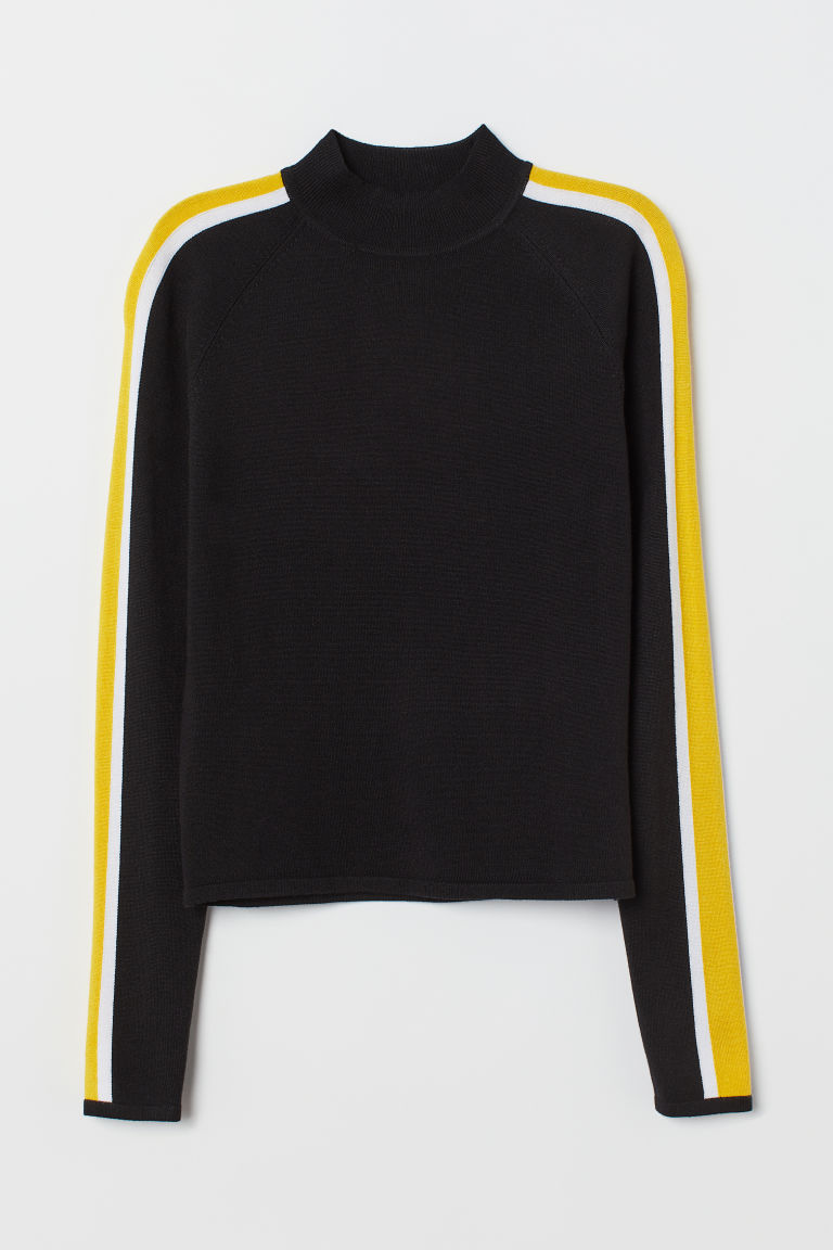 Turtleneck jumper - Black -  | H&M CN