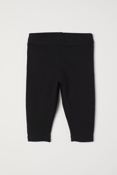 Leggings in jersey - Nero - BAMBINO | H&M IT