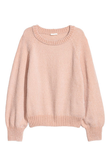 Knitted jumper - Apricot - Ladies | H&M