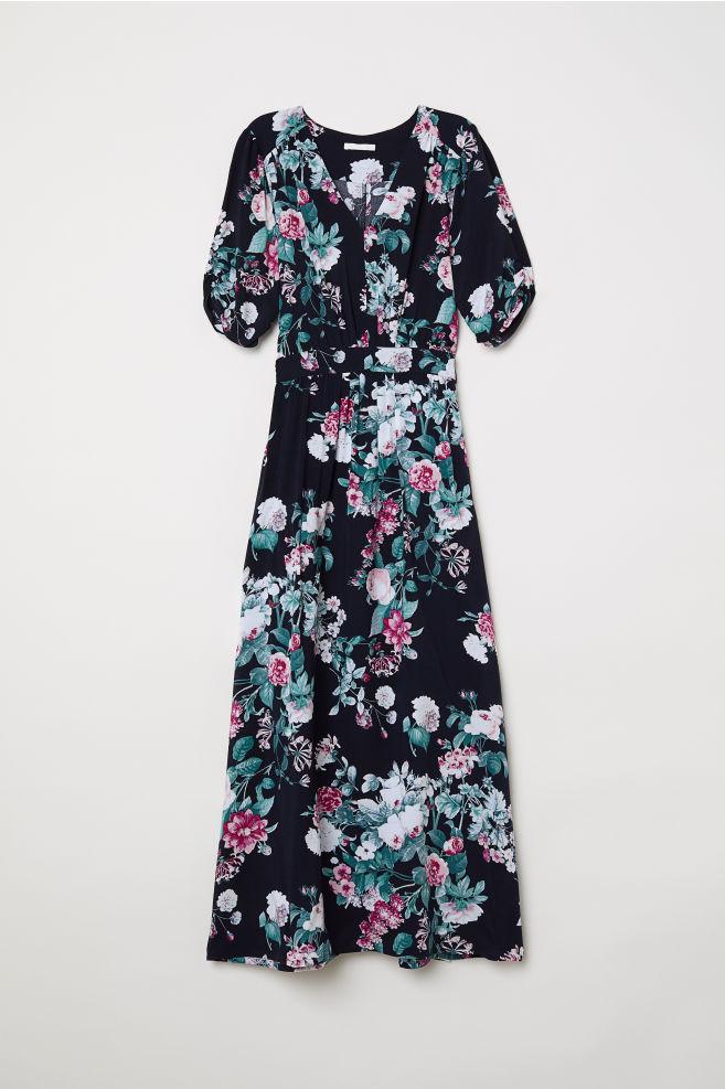 7dd5f0d6d Mønstret kjole