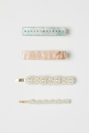 4-pack hair clips