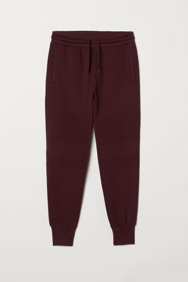 Bikerjoggers - Bordeauxrood - HEREN | H&M BE