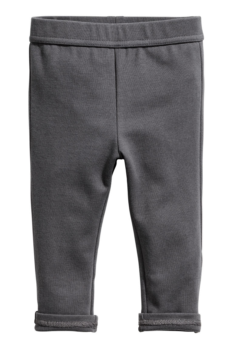 Jersey trousers - Dark grey - Kids | H&M CN