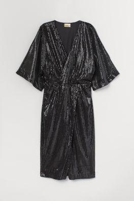 7364304a48d Robe à paillettes