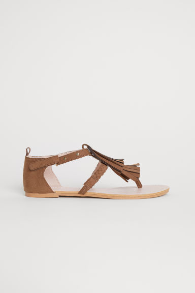 Sandals - Brown -  | H&M