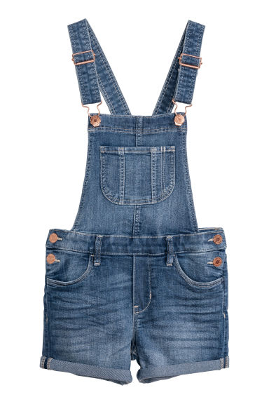 Salopette corta - Blu denim - BAMBINO | H&M IT
