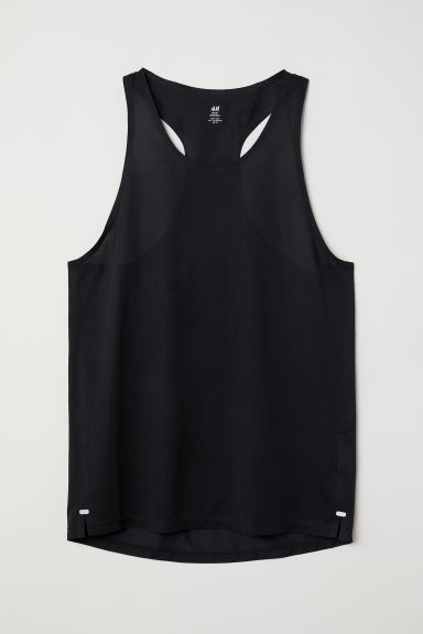 Ultra-light running vest - Black -  | H&M