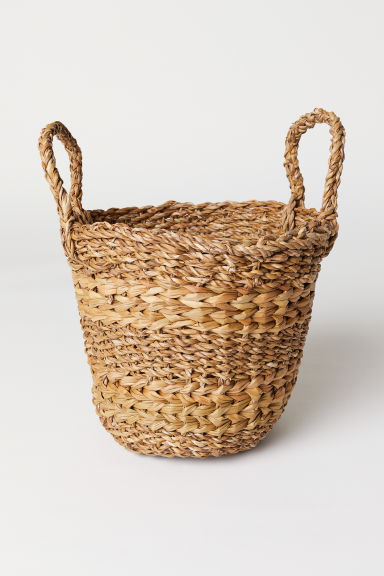 Seagrass storage basket - Natural - Home All | H&M CN