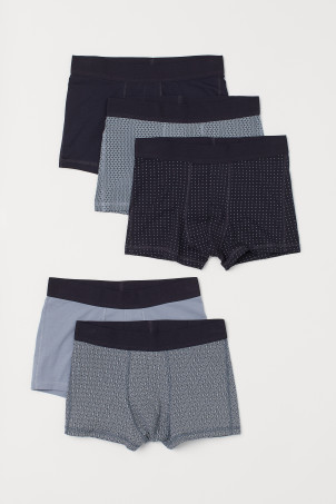 5-pack short trunks