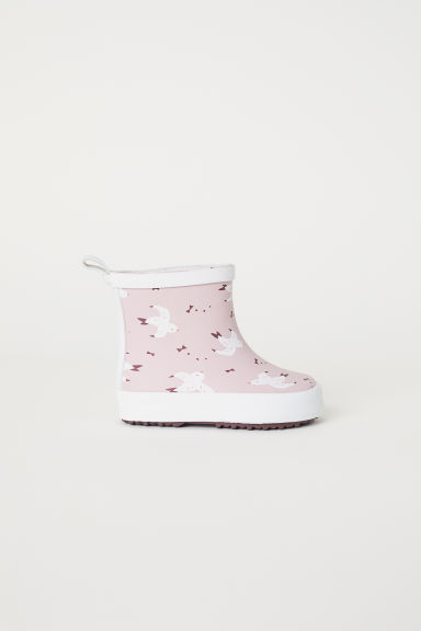 Wellingtons - Powder pink/Swallows - Kids | H&M