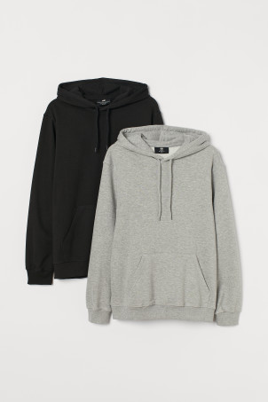 2-pack Relaxed Fit Hoodies
