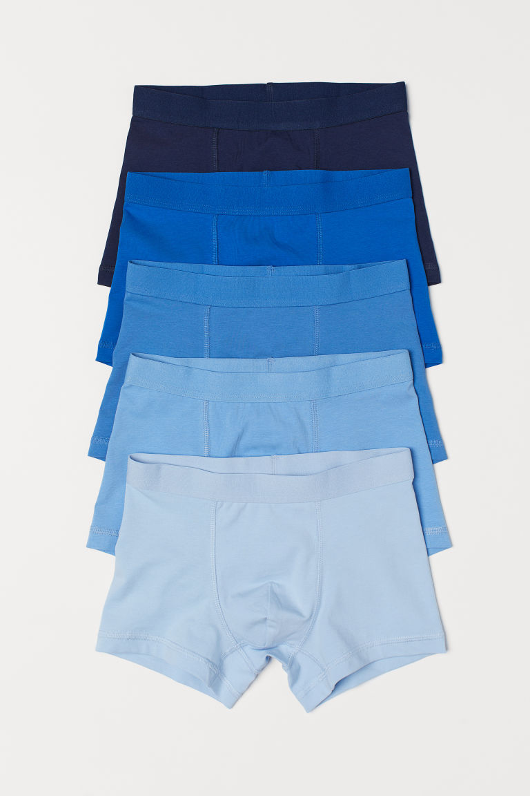 5-pack boxer shorts - Light blue - Kids | H&M CN