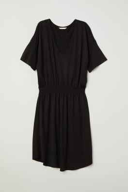 c24032802d4 Žerzejové šaty s žabkováním