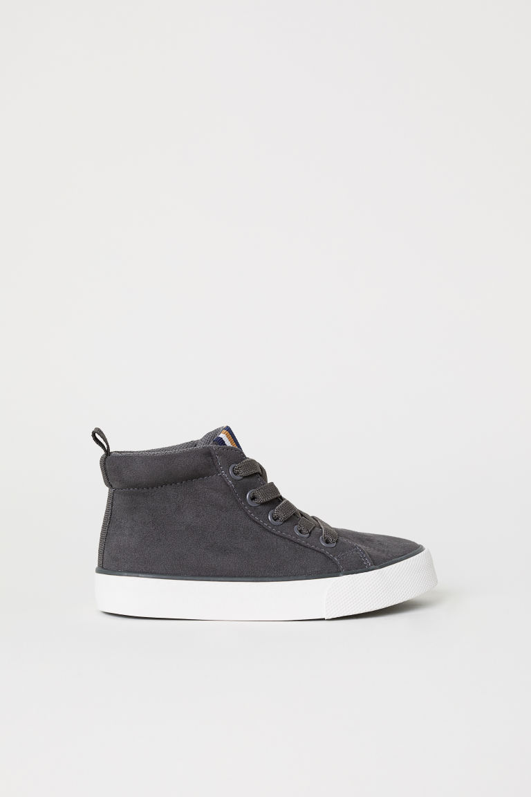Hi-top trainers - Dark grey -  | H&M CN