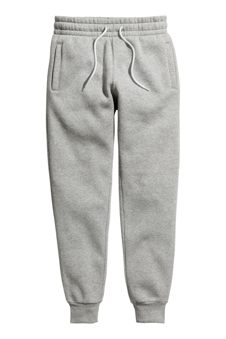 Sweatpants - Grey marl - Men | H&M