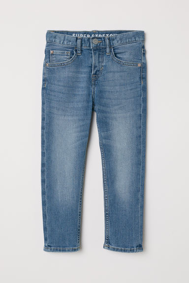 Superstretch Slim Fit Jeans - Azul denim - NIÑOS | H&M ES