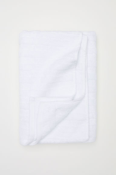 Bath towel - White - Home All | H&M GB