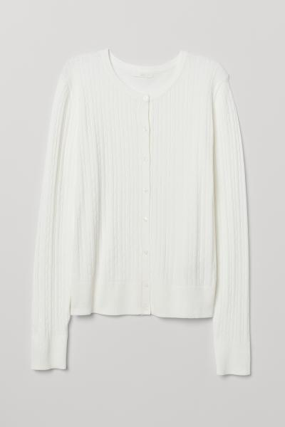 H&M - Cable-knit cardigan - 5