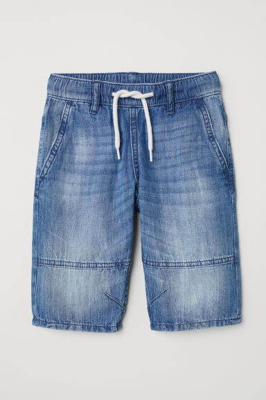 Denim clamdiggers - Denimblauw - KINDEREN | H&M BE