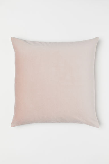 Copricuscino in velluto - Rosa cipria - HOME | H&M IT