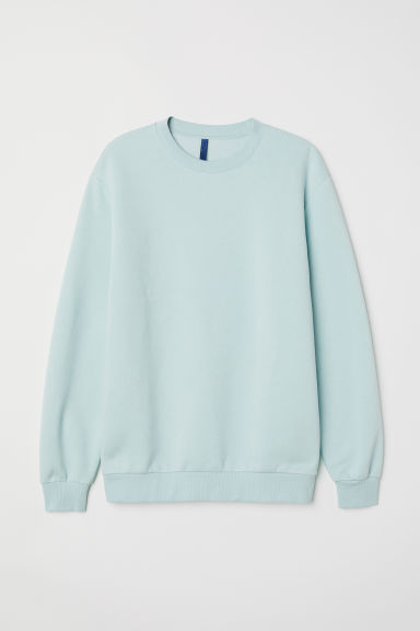Sudadera Relaxed fit - Verde menta - HOMBRE | H&M ES