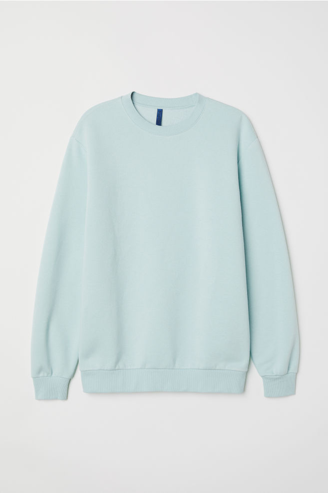 46b4c6b1c66 Oversized Sweatshirt - Mint green - Men