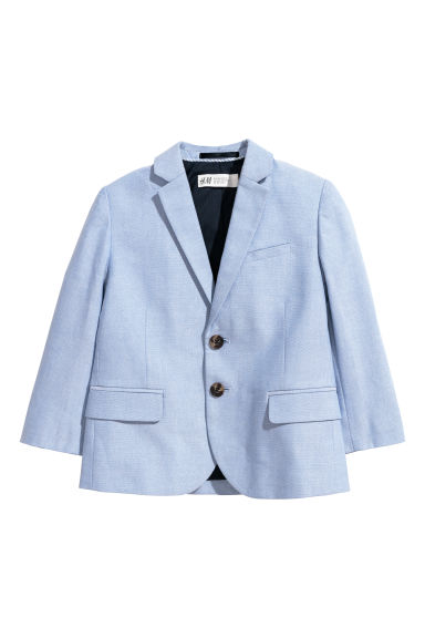 Cotton jacket - Light blue -  | H&M