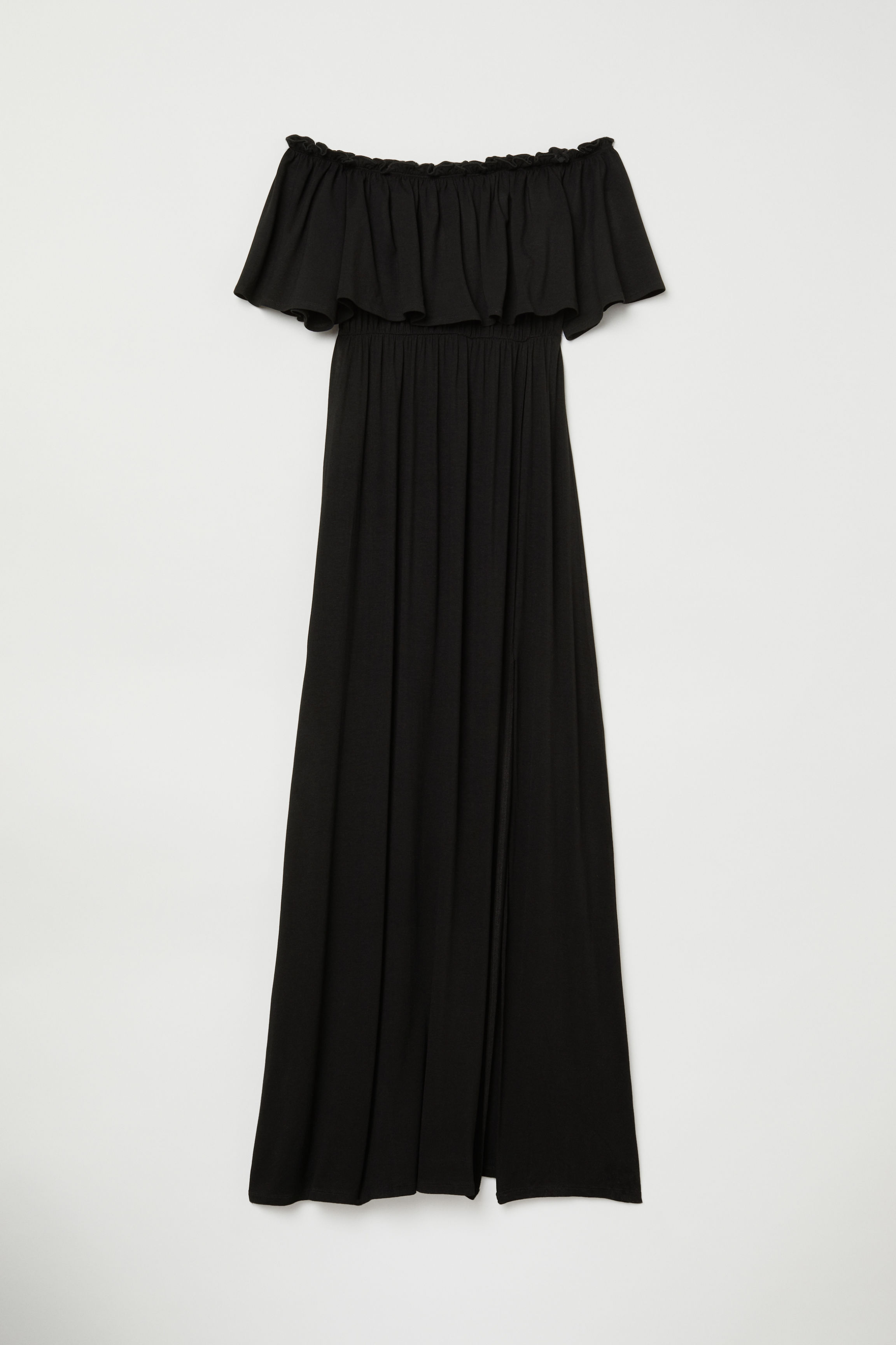 2012de7b48d Off-the-shoulder Dress - Black - Ladies