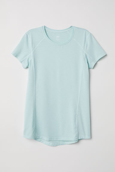 Top training - Turquoise clair - FEMME | H&M FR