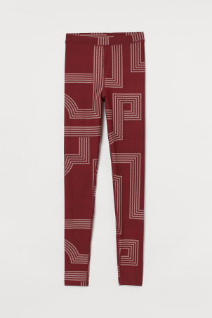 Glanset leggings